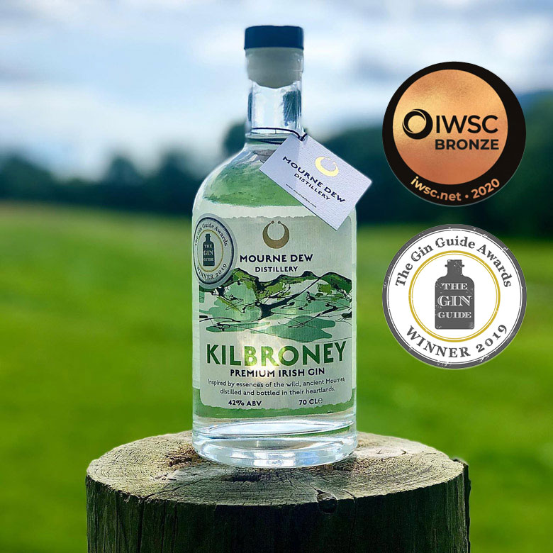 Mourne-Dew-Distillery-Kilbroney-Premium-Irish-Gin-Newry-Distillery-Award-Winner
