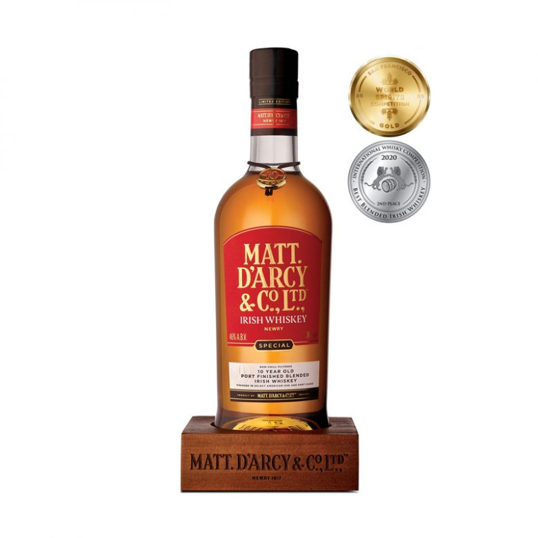 Matt D'Arcy's 10 Year Old Port Finish